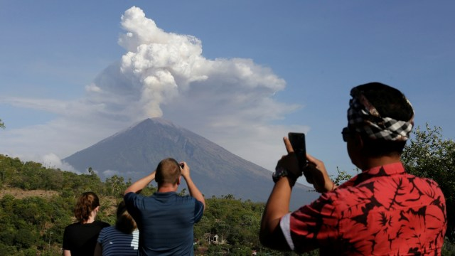 Erupsi di Gunung Agung, Bali