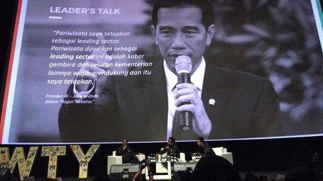 Menpar Arief Yahya di Youth x Public Figure