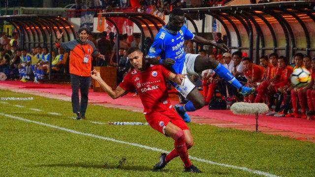 FOTO LIPSUS, SUPORTER, Persib Bandung vs Persija Jakarta