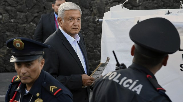 Capres Meksiko Andreas Manuel Lopez