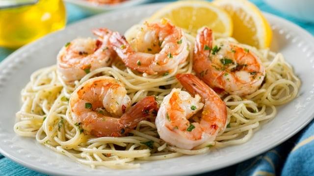 gambar spaghetti udang gambar kodok hd Resepi Pasta Angel Hair Enak dan Mudah