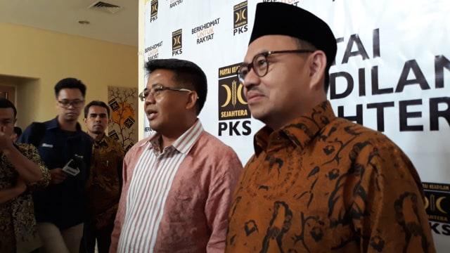 Sudirman Said dan Sohibul Iman di PKS
