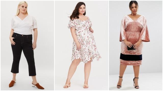 Alat Belanja Pakaian Plus Size