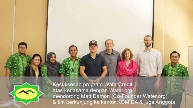 Matt Damon di Indonesia
