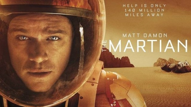 Poster Film The Martian