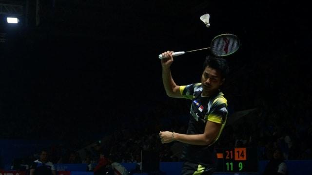 Tontowi Ahmad dan Lilyana Natsir di Indonesian Open 2018