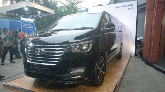 Peluncuran Hyundai H-1 terbaru