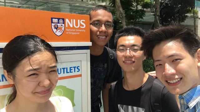 Yoga pertukaran pelajar ke National University of Singapore