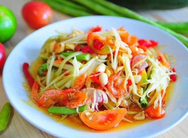 Resep Salad Dari Thailand Som Tum Kumparan Com