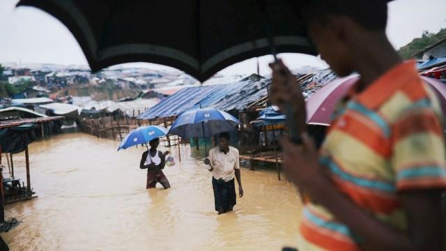 kamp Kutupalong Pengungsi Rohingya di Bangladesh