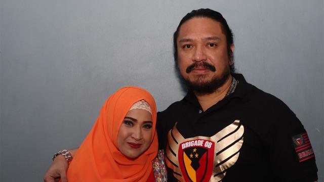 Wirdha dan Suaminya Zecky Alatas