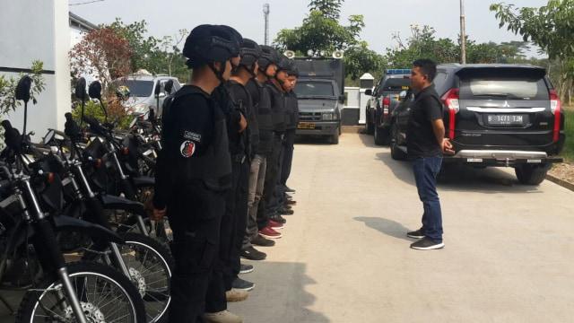 Satgas antibegal Polres Tangerang