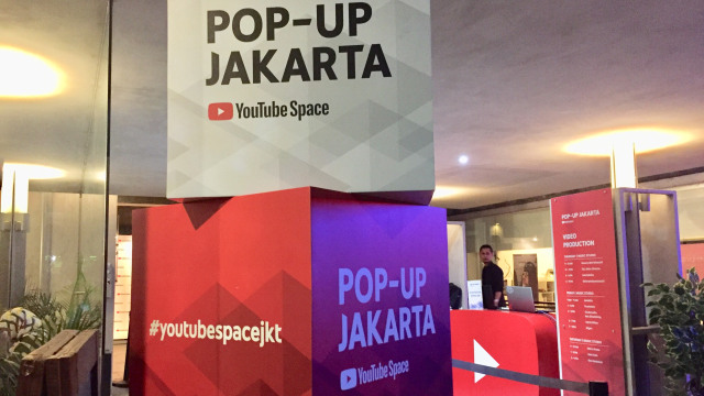 YouTube Pop-up Space Jakarta 2018