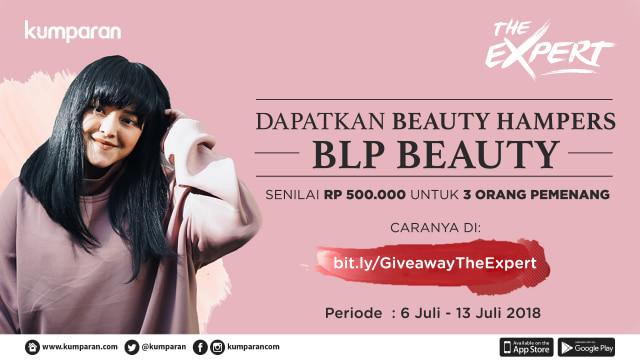 Ikuti Giveaway The Expert: Lizzie Parra Berhadiah Makeup Rp 500 Ribu! (66)