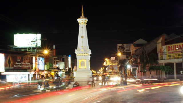 Tugu Jogja di Yogyakarta