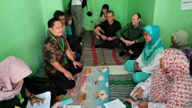 Matt Damon di Indonesia
