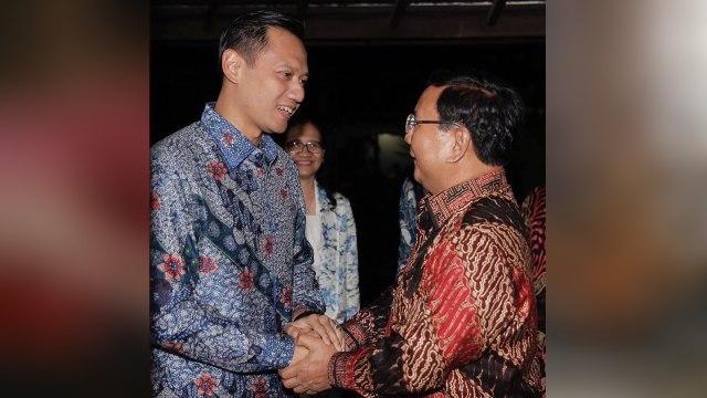 AHY dan Prabowo