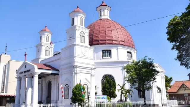 Wisata Sejarah di Gereja Blenduk, Ikon Kota Lama Semarang (145216)