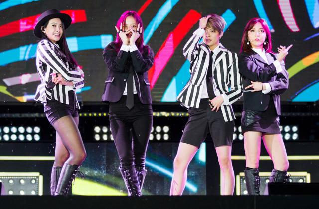 Girlband K-Pop f(x)