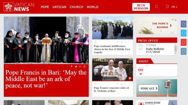 Situs Vatican News