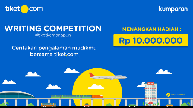 com-Tiket.com Writing Competition