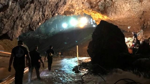 Misi penyelamatan di Gua Thailand