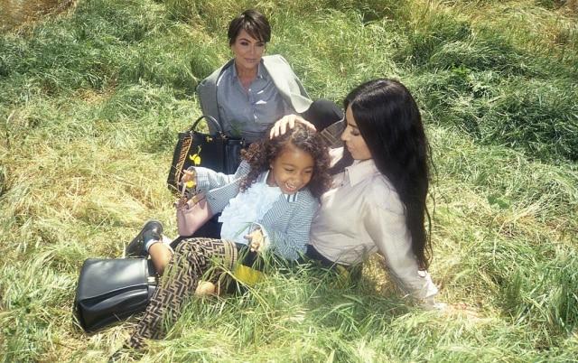 Kampanye Fendi bersama Keluarga Kardashian