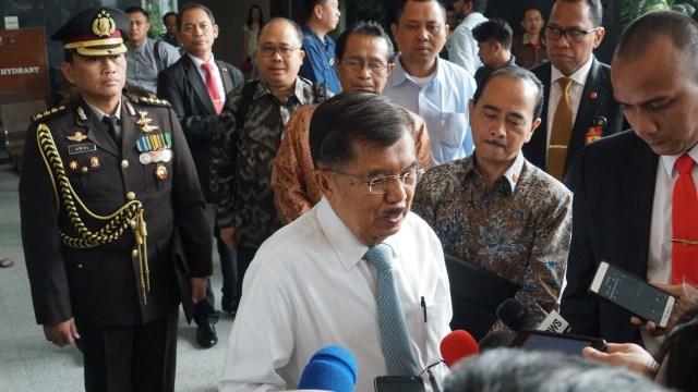 Wakil Presiden Jusuf Kalla di Tipikor