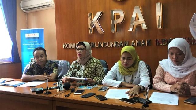 Konferensi Pers, Komisi Perlindungan Anak Indonesia