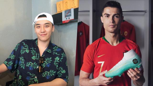Seung Ri Batal dan Cristiano Ronaldo