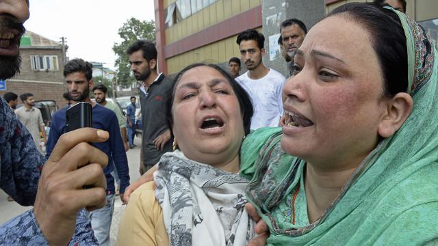 Ledakan di Kashmir