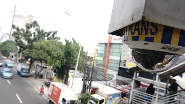Ilustrasi CCTV di jalan