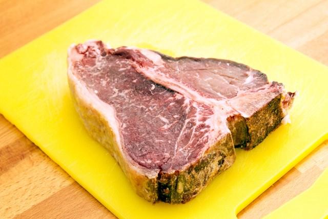 Ilustrasi daging yang dikeringkan