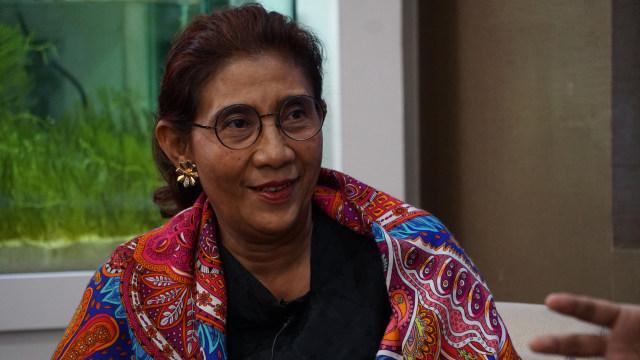 Susi Pudjiastuti Raih Penghargaan Most Admired Public Figure 2019 (190932)