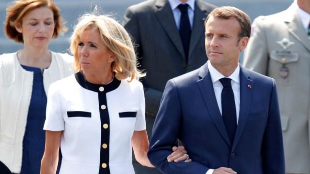 Presiden Prancis & Istri Dikecam, Beli Bunga Rp 10,3 M untuk Dekorasi Istana (287511)
