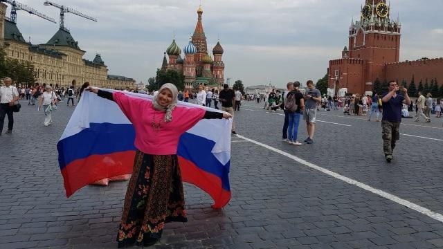 Dokter Rima di Rusia untuk menyaksikan final Piala Dunia
