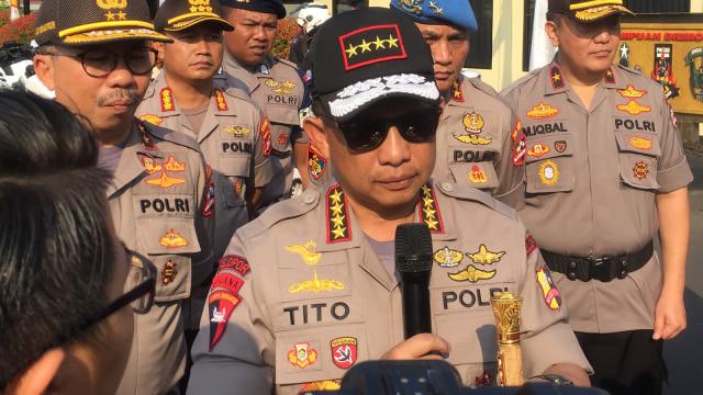 Kapolri, Tito Karnavian, Mako Brimob, Kelapa Dua
