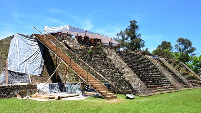 Kuil Kuno Misterius dalam Piramida Ditemukan Berkat Bantuan Gempa (76561)