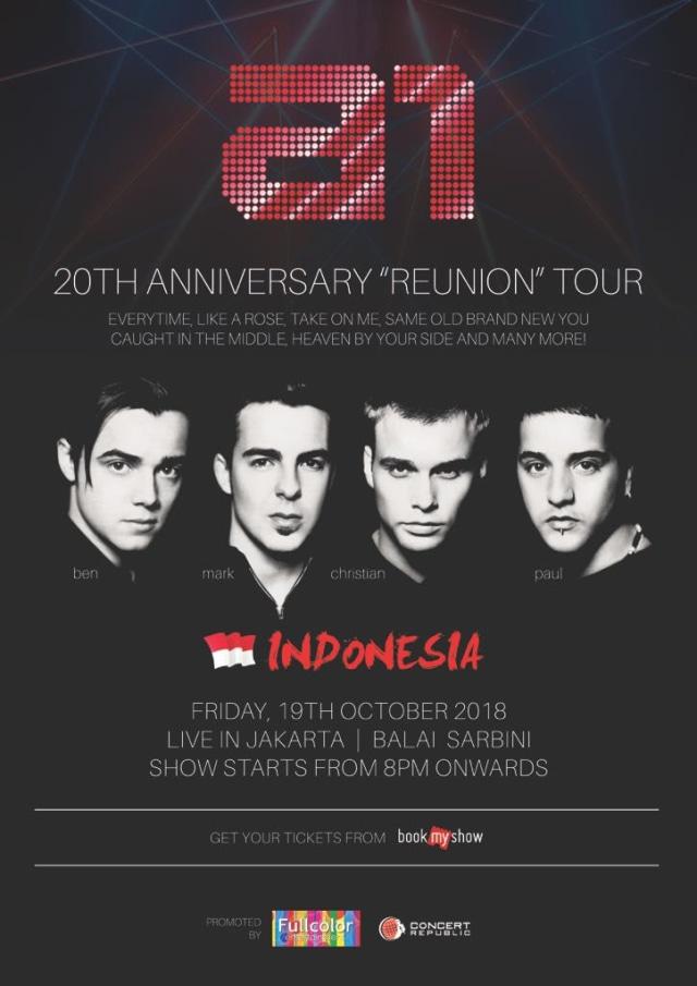 Boyband A1 Gelar Konser Reuni di Jakarta pada 19 Oktober (1313826)