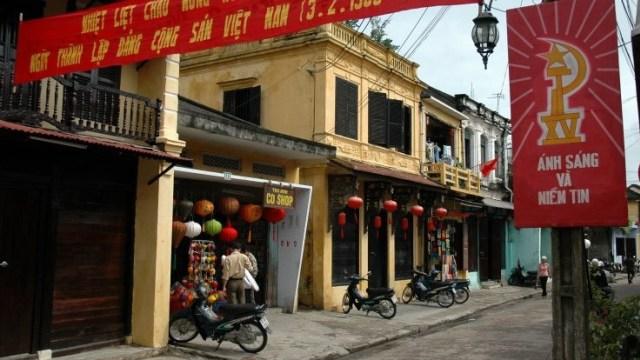 Deretan Bangunan di Kota Tua Hoi An, Vietnam