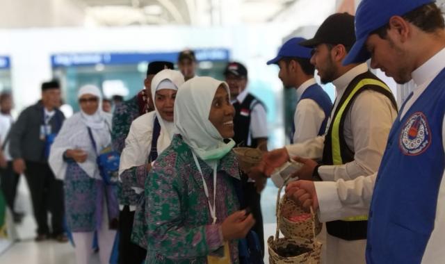 Jemaah Haji Indonesia Tiba di Saudi Arabia