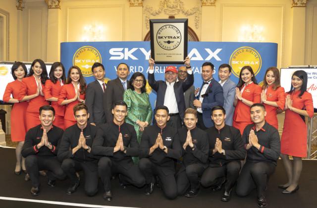 AirAsia di SkyTrax World Airline Awards 2018