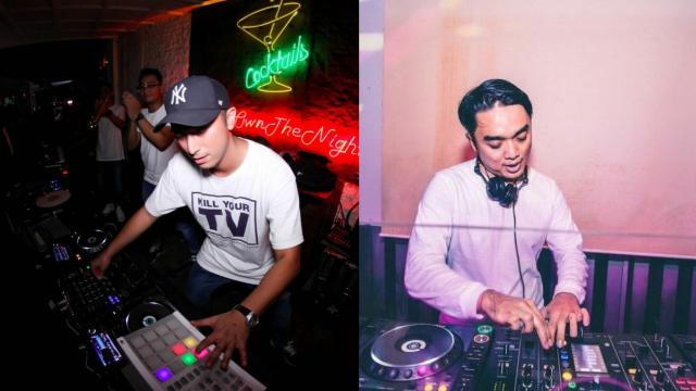 DJ Winky Wiryawan dan DJ Dipha Barus