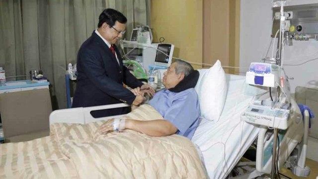 Pertemuan Prabowo dan SBY.