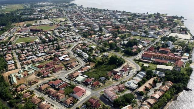 Ilustrasi Kota Suriname