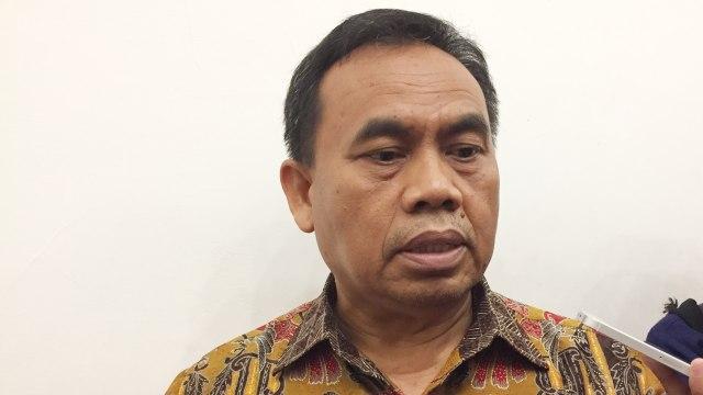 Sekda DKI Jakarta Saefullah di Balai Kota