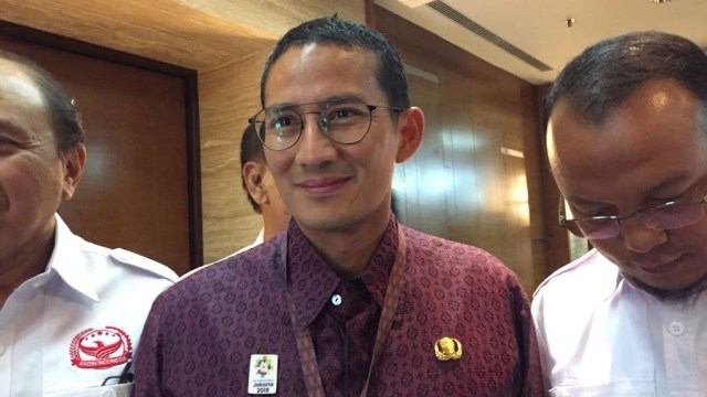 Wakil Gubernur DKI, Sandiaga Uno