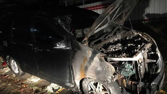 Polisi Selidiki Penyebab Mobil Neno Warisman Terbakar (107066)