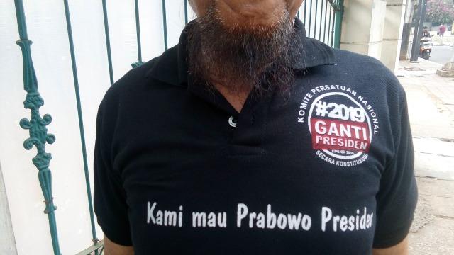Usai #2019GantiPresiden, Muncul Aksi 'Kami Mau 2019 Prabowo Presiden' (506700)