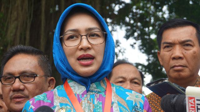 Airin Rachmi Usul ke Jokowi Ada Dana Kelurahan (83218)